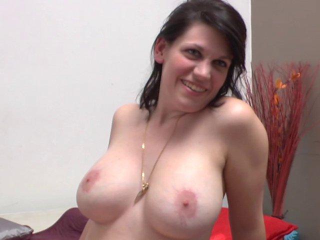 Casting porno d'une amatrice